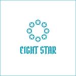 queuecatさんのホストクラブ「EIGHT STAR」のロゴへの提案