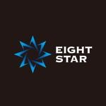 hatarakimonoさんのホストクラブ「EIGHT STAR」のロゴへの提案