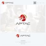 onesizefitsallさんのNPO法人アジア・太平洋まちづくり支援機構(APTAC)のロゴへの提案