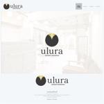 onesizefitsallさんのまつ毛エクステサロン【ulura(ウルラ)】のロゴ制作への提案