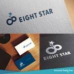 nekosuさんのホストクラブ「EIGHT STAR」のロゴへの提案