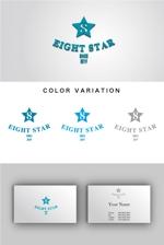 dkkhさんのホストクラブ「EIGHT STAR」のロゴへの提案