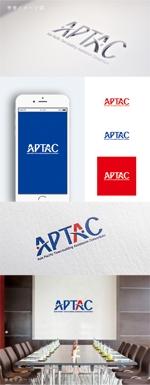 smoke-smokeさんのNPO法人アジア・太平洋まちづくり支援機構(APTAC)のロゴへの提案