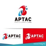 nekosuさんのNPO法人アジア・太平洋まちづくり支援機構(APTAC)のロゴへの提案