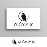 White-designさんのまつ毛エクステサロン【ulura(ウルラ)】のロゴ制作への提案