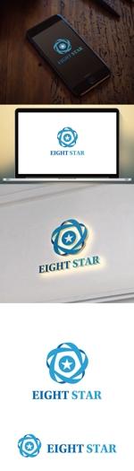 cozzyさんのホストクラブ「EIGHT STAR」のロゴへの提案