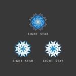 utsutsuさんのホストクラブ「EIGHT STAR」のロゴへの提案