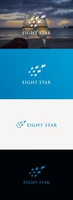 tanaka10さんのホストクラブ「EIGHT STAR」のロゴへの提案