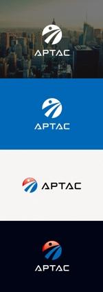 tanaka10さんのNPO法人アジア・太平洋まちづくり支援機構(APTAC)のロゴへの提案