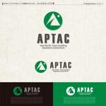 kzdesignさんのNPO法人アジア・太平洋まちづくり支援機構(APTAC)のロゴへの提案