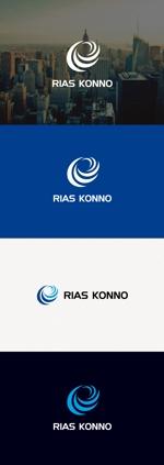 tanaka10さんの会社の看板、名刺『株式会社リアス今野』のロゴへの提案