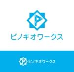 Fivestar-managementさんのブライダルコンサルタント&飲食「株式会社ピノキオワークス」社名ロゴデザインへの提案