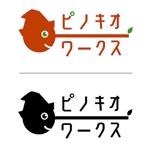 megu01さんのブライダルコンサルタント&飲食「株式会社ピノキオワークス」社名ロゴデザインへの提案