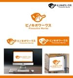 merody0603さんのブライダルコンサルタント&飲食「株式会社ピノキオワークス」社名ロゴデザインへの提案