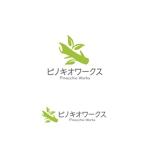 VEROさんのブライダルコンサルタント&飲食「株式会社ピノキオワークス」社名ロゴデザインへの提案