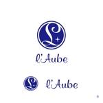 MIYAXさんの「l'aube」のロゴ作成への提案