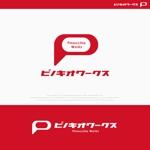 Morinohitoさんのブライダルコンサルタント&飲食「株式会社ピノキオワークス」社名ロゴデザインへの提案