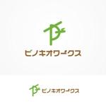 monkey1201さんのブライダルコンサルタント&飲食「株式会社ピノキオワークス」社名ロゴデザインへの提案