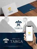 maharo77さんの税理士法人TARGAのロゴへの提案