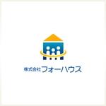 shima-zさんの「株式会社フォーハウス」のロゴ作成への提案