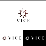 athenaabyzさんの洗練されたライフスタイルを提案していく「VICE」のロゴへの提案
