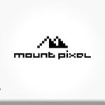 vimgraphicsさんの「mount pixel」のロゴ への提案