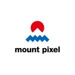 skyblueさんの「mount pixel」のロゴ への提案
