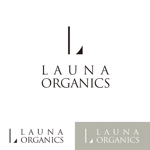 twowayさんのオーガニック化粧品「LAUNA ORGANICS」のロゴ制作への提案