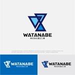 drkigawaさんの株式会社渡辺工業(建設業)の会社のロゴへの提案