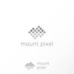 katachidesignさんの「mount pixel」のロゴ への提案