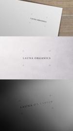 zeross_designさんのオーガニック化粧品「LAUNA ORGANICS」のロゴ制作への提案