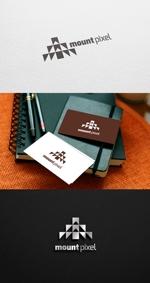 pekoodoさんの「mount pixel」のロゴ への提案