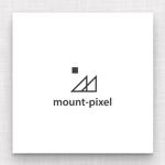 maharo77さんの「mount pixel」のロゴ への提案