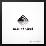 2038designさんの「mount pixel」のロゴ への提案