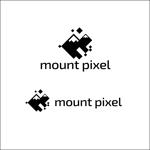 queuecatさんの「mount pixel」のロゴ への提案