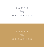 tokyodesignさんのオーガニック化粧品「LAUNA ORGANICS」のロゴ制作への提案