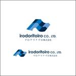 queuecatさんの新しい働き方を時代に創出する企業「イロドリトイロ株式会社」のロゴへの提案