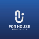 IERO-Uさんの「株式会社フォーハウス」のロゴ作成への提案