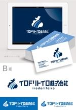 smoke-smokeさんの新しい働き方を時代に創出する企業「イロドリトイロ株式会社」のロゴへの提案