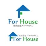 harryartさんの「株式会社フォーハウス」のロゴ作成への提案