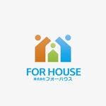nagar-ecoさんの「株式会社フォーハウス」のロゴ作成への提案
