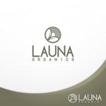 Origintさんのオーガニック化粧品「LAUNA ORGANICS」のロゴ制作への提案