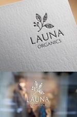 ns_worksさんのオーガニック化粧品「LAUNA ORGANICS」のロゴ制作への提案