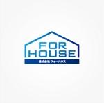 OTEMEさんの「株式会社フォーハウス」のロゴ作成への提案