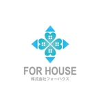 JUN_KATAOKAさんの「株式会社フォーハウス」のロゴ作成への提案