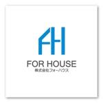 sitepocketさんの「株式会社フォーハウス」のロゴ作成への提案