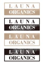 Seizeさんのオーガニック化粧品「LAUNA ORGANICS」のロゴ制作への提案