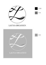 charilyさんのオーガニック化粧品「LAUNA ORGANICS」のロゴ制作への提案