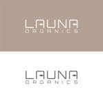glpgs-lanceさんのオーガニック化粧品「LAUNA ORGANICS」のロゴ制作への提案
