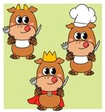 焼肉食べ放題店のキャラクター制作(LINEスタンプも作成する予定あり)への提案